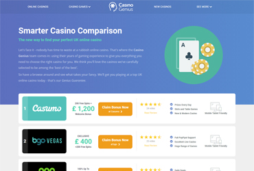 Casino Genius Screenshot